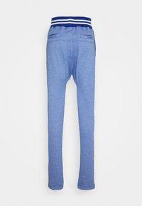Schott - PAUL - Tracksuit bottoms - heather blue - 6