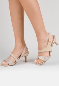 Paradox London Wide Fit - LUMLEY - WIDE FIT - Sandalen - off-white - 0