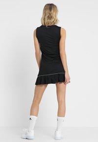 adidas Performance - CLUB DRESS SET - Sportovní šaty - black - 2