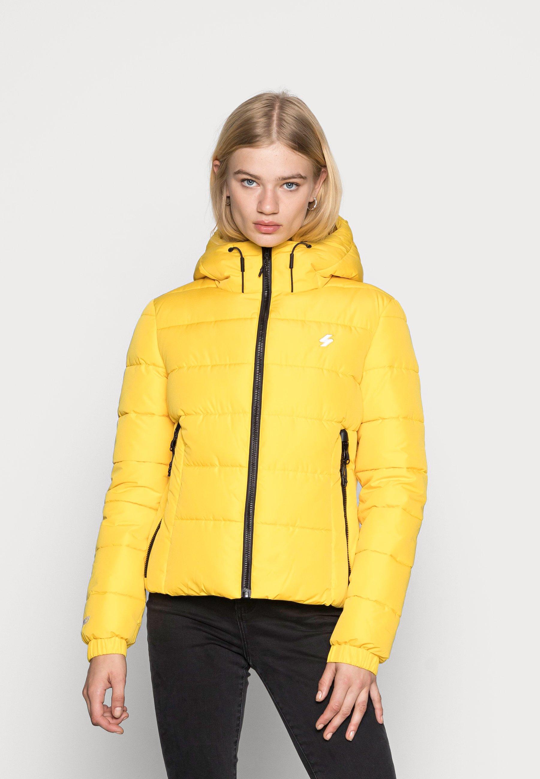 Women HOODED SPIRIT SPORTS PUFFER - Winter jacket