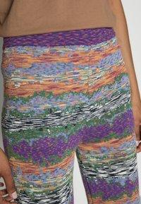 Desigual - PANT VOLGA - Tracksuit bottoms - multi-coloured - 4