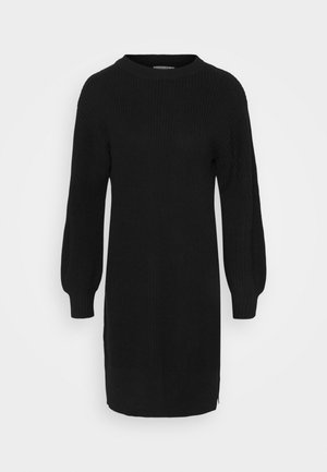Balloon Sleeve - Jumper dress - black