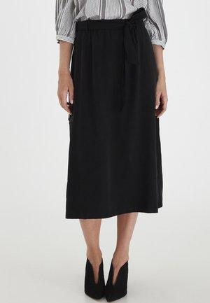 FRLAJUMP - A-line skirt - black