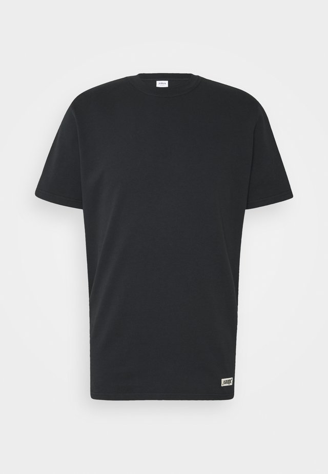 BOX LOGO TEE - T-shirt basic - black