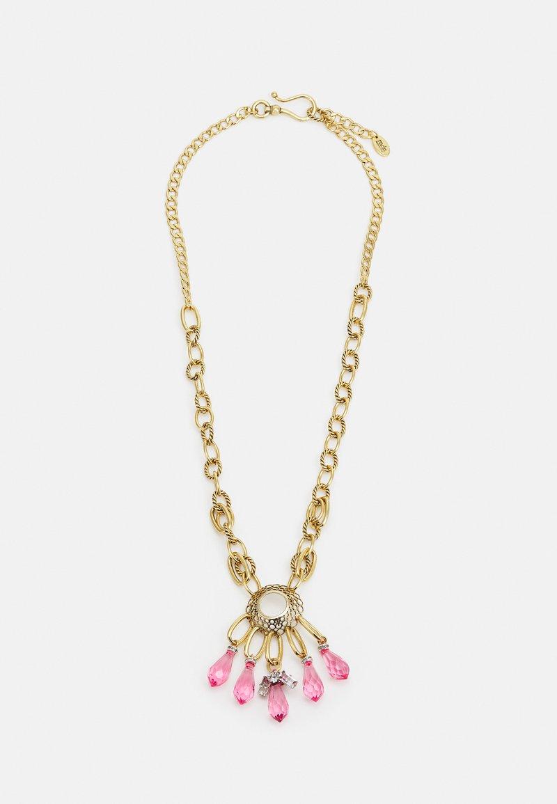 Radà - NECKLACE - Necklace - pink/gold-coloured