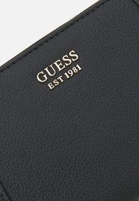 Guess - NAYA CHEQUE ORGANIZER - Peněženka - black - 5