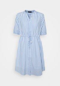 Selected Femme - SLFPERA ZENIA DRESS - Day dress - snow white/blue - 0