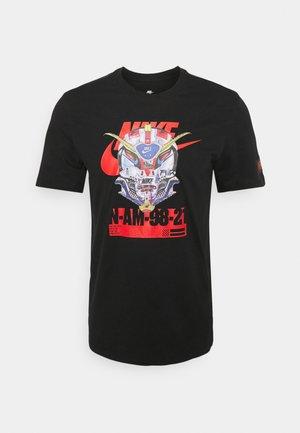 TEE MECH AIR MASK - Print T-shirt - black