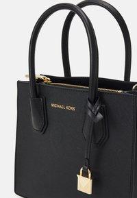 MICHAEL Michael Kors - MERCER MESSENGER - Handbag - black - 4