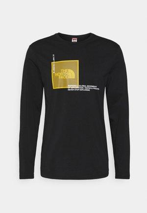 COORDINATES  - Long sleeved top - black