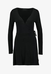 Even&Odd Petite - Vestito di maglina - black - 4
