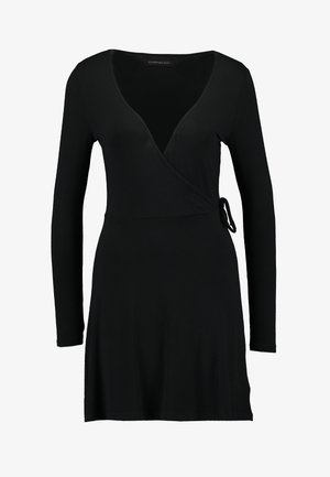 BASIC DAY DRESS - Day dress - black