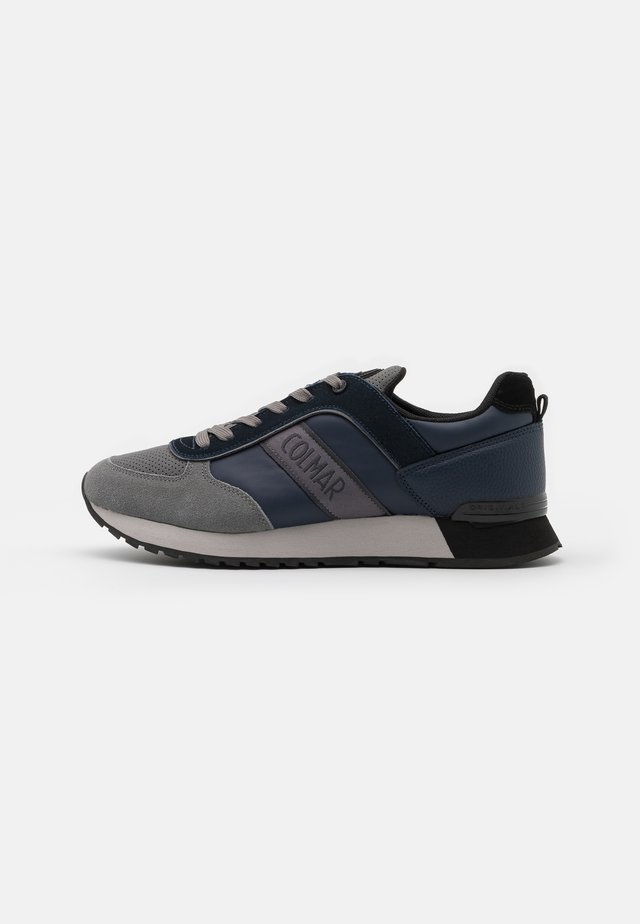TRAVIS RUNNER PRIME - Baskets basses - navy/grey