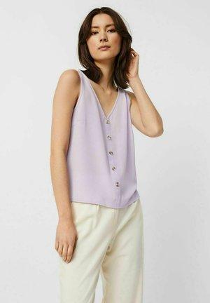 Blouse - pastel lilac