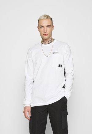 HOLGA - Long sleeved top - bright white