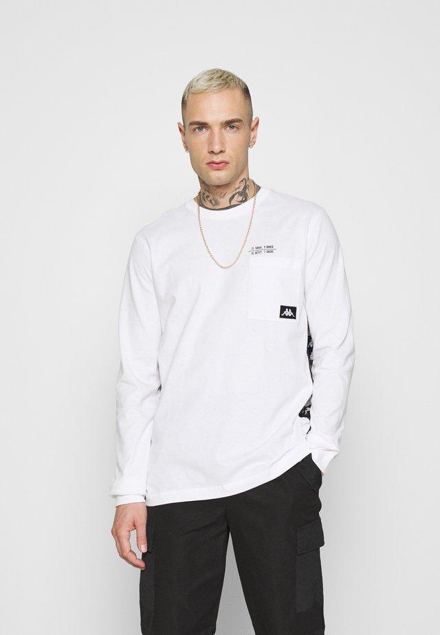 HOLGA - T-shirt à manches longues - bright white