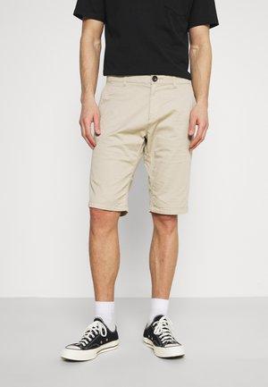 JOSH  - Shorts - dust beige geometric design