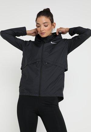 Běžecká bunda - black/silver