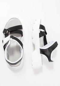 Esprit - HUNKY  - Platform sandals - black - 3