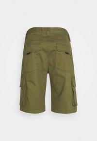 Tommy Jeans - WASHED CARGO - Shortsit - uniform olive - 1
