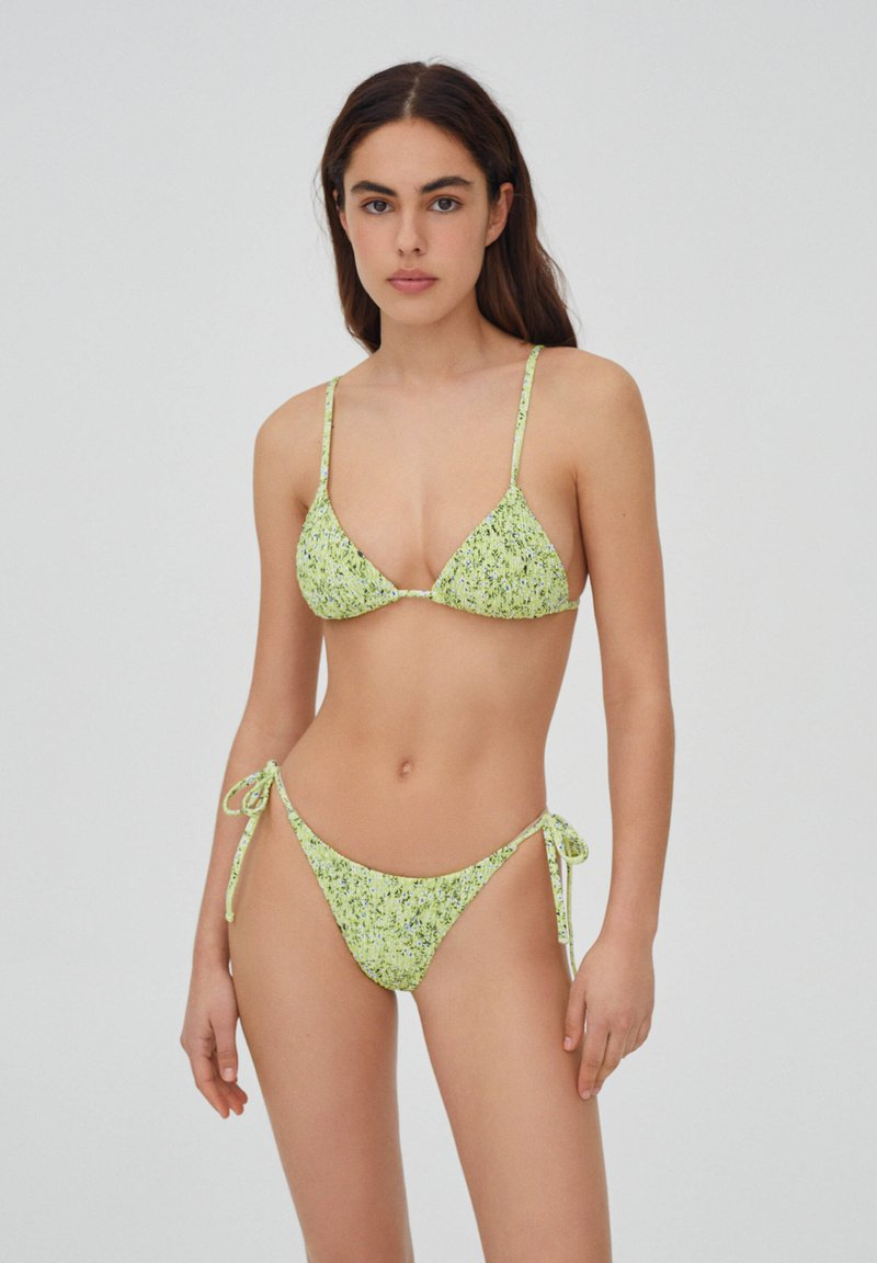 PULL&BEAR - Bikiniöverdel - evergreen