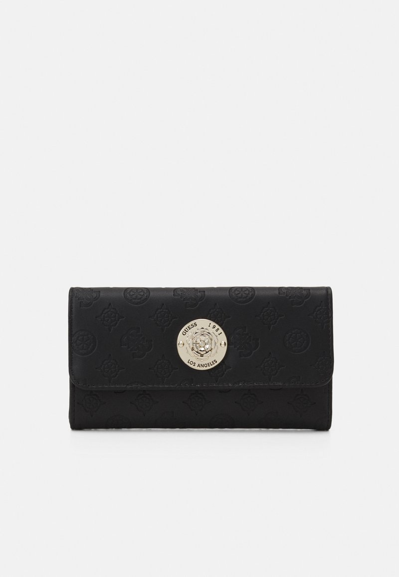 Guess - DAYANE POCKET TRIFOLD - Portefeuille - black