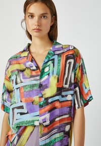 PULL&BEAR - Button-down blouse - multi-coloured - 3