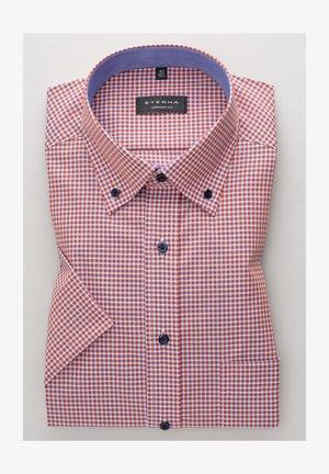 COMFORT FIT - Shirt - pfirsich/weiss