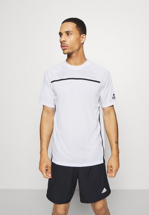 PRIMEBLUE TEE - Print T-shirt - white