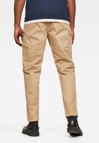 G-Star - ROXIC STRAIGHT TAPERED - Cargo trousers - sahara gd - 1