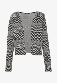 ONLY - ONLVIGGA ZIGZAG CARDIGAN JRS - Kardigan - cloud dancer/zigzag black - 3
