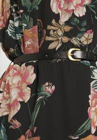 Vero Moda - VMSUNILLA SHORT DRESS - Vestido informal - black - 6