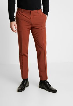 CONKER STRETCH - Suit trousers - brown