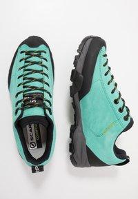 Scarpa - MOJITO - Obuwie hikingowe - green/blue - 1