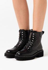 Liu Jo Jeans - PINK  - Støvletter - black - 0