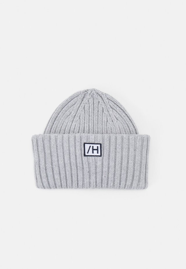 SLHHENRIK BEANIE UNISEX - Bonnet - light grey melange