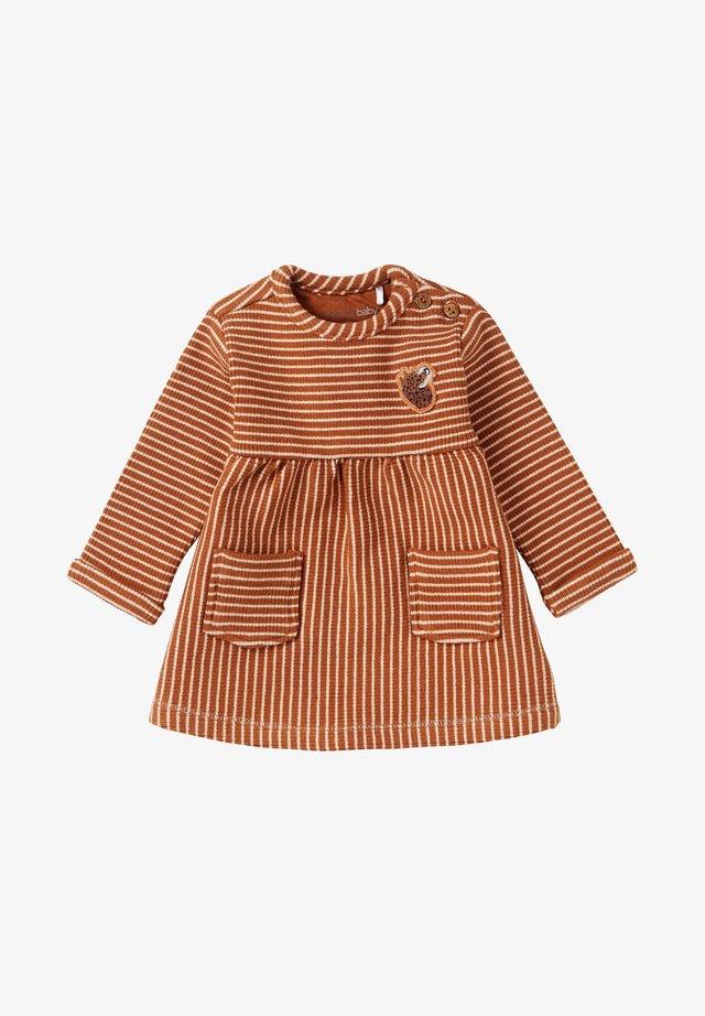 MELMOTH - Jumper dress - rust