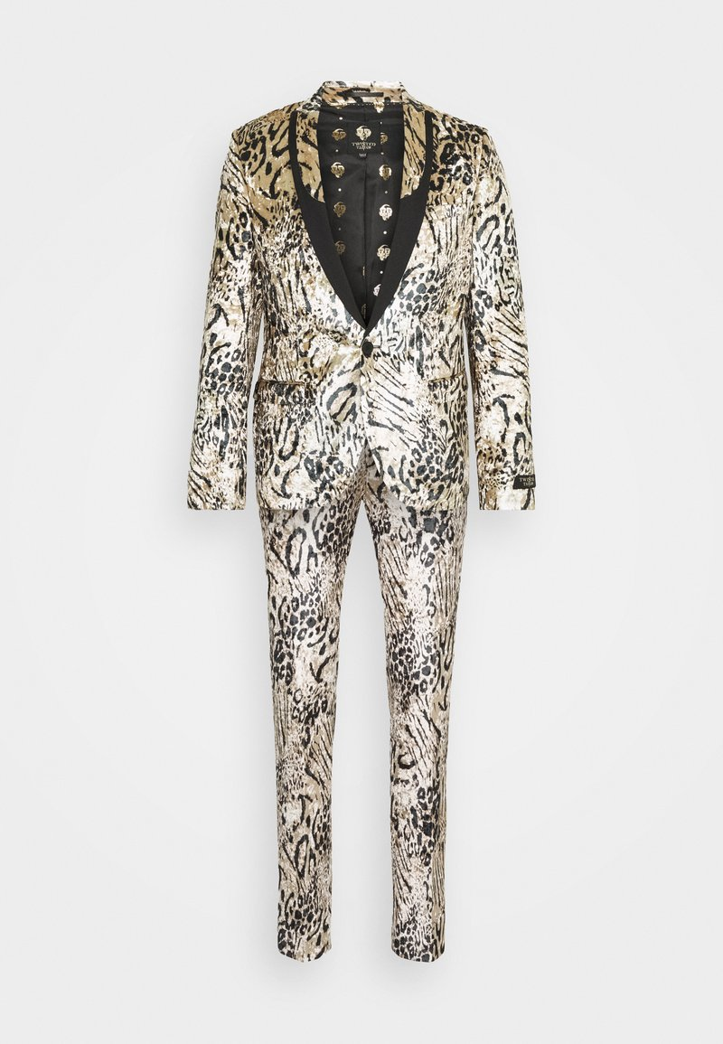 Twisted Tailor - STEELE SUIT - Garnitur - champagne