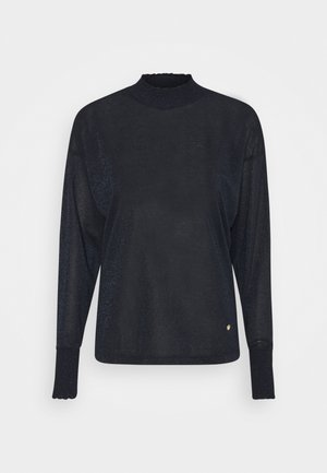 Long sleeved top - navy iris