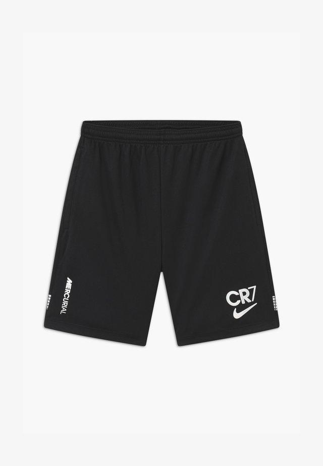 DRY  - Sportovní kraťasy - black/white/iridescent