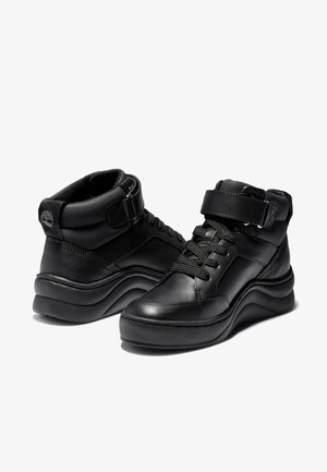 RUBY ANN CHUKKA - Sneakersy wysokie - black full grain