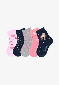Sterntaler - 5ER-PACK PUNKTE - Socks - rosa - 0