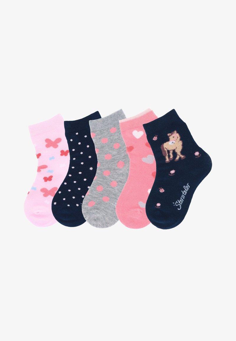 Sterntaler - 5ER-PACK PUNKTE - Socks - rosa