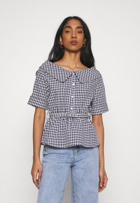 Molly Bracken - YOUNG LADIES - Button-down blouse - navy blue - 0