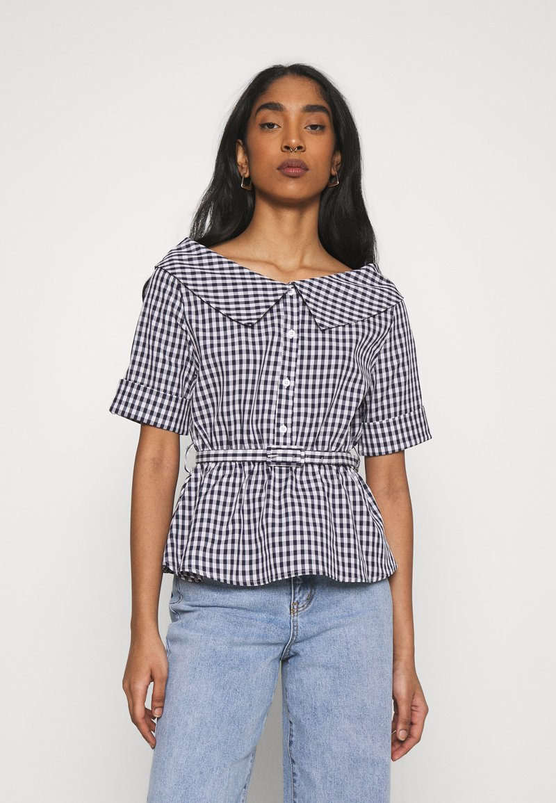Molly Bracken - YOUNG LADIES - Button-down blouse - navy blue