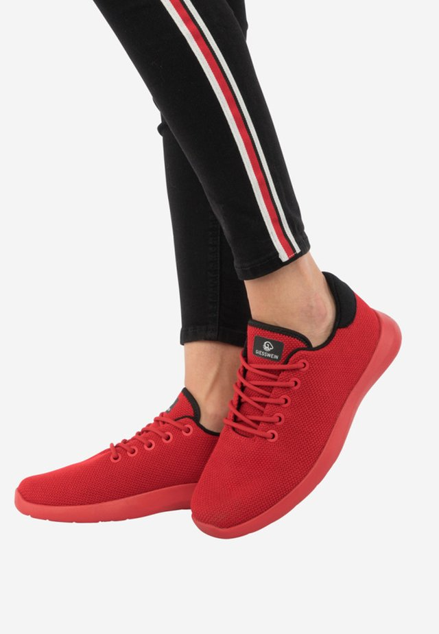 MERINO - Trainers - red flame