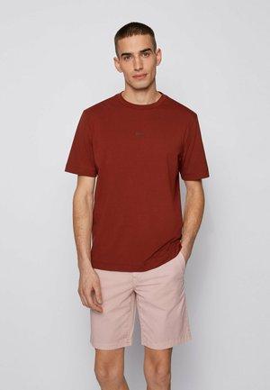 TCHUP - T-shirt basique - brown
