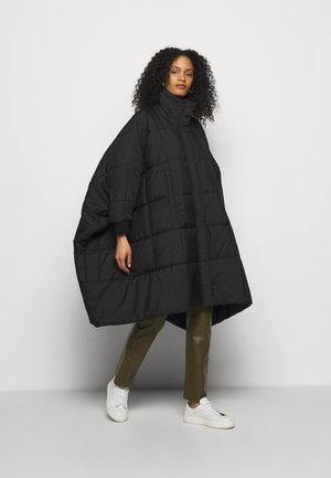 THE DUVET COAT - Klassinen takki - black