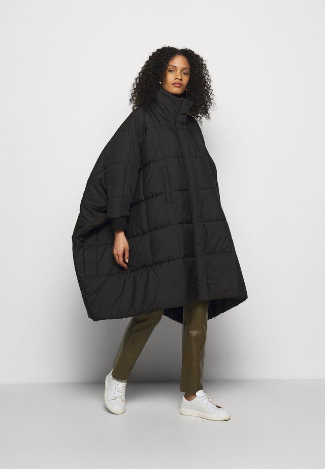 THE DUVET COAT - Cappotto classico - black