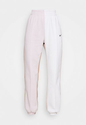 Tracksuit bottoms - platinum violet/vast grey